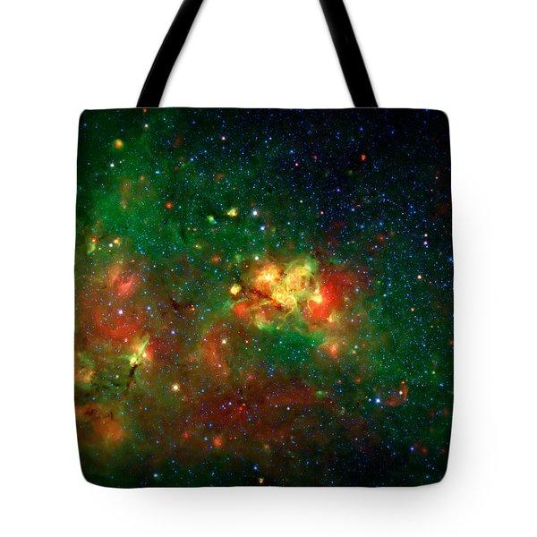 Hidden Nebula Tote Bag by The  Vault - Jennifer Rondinelli Reilly