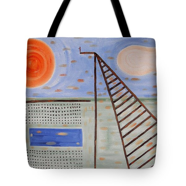 High Dive Tote Bag by Patrick J Murphy