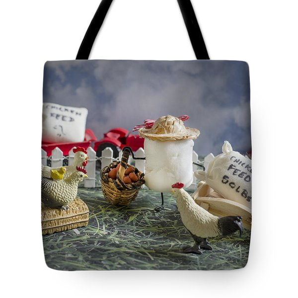 High Fructose Farming Tote Bag by Heather Applegate