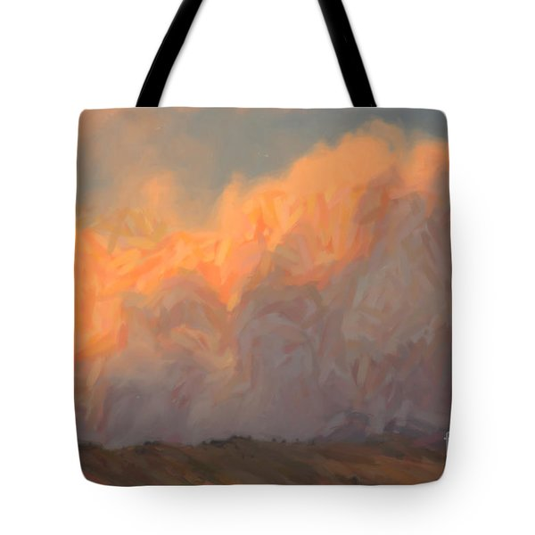 High Park Fire Tote Bag by Jon Burch Photography