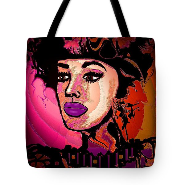 High Society Tote Bag by Natalie Holland