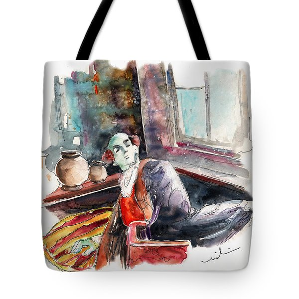 High Society On The Conquistadores Boat In Vila Do Conde In Portugal Tote Bag by Miki De Goodaboom
