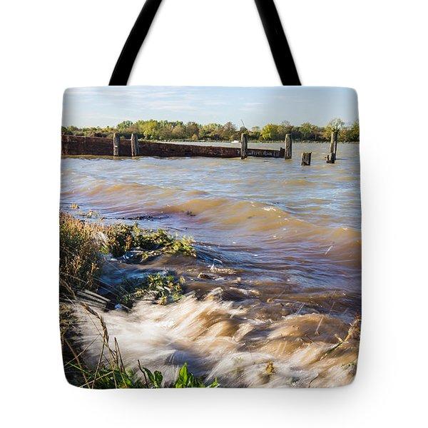 High Tide Tote Bag by Dawn OConnor