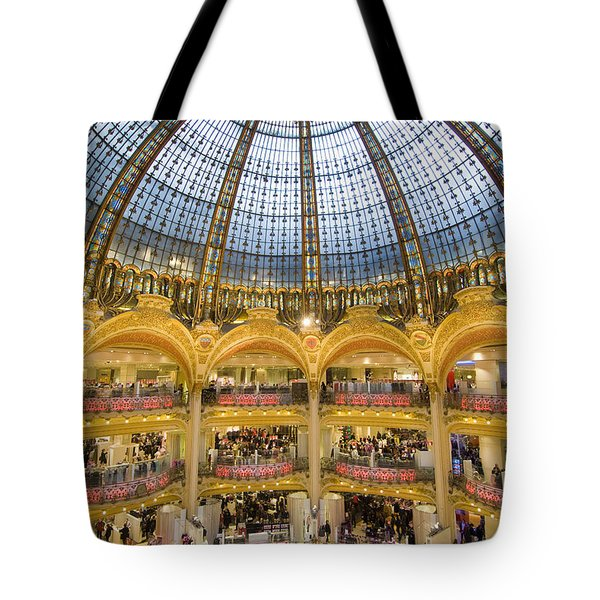 High View Of The Domed Central Area Of Tote Bag by Ian Cumming