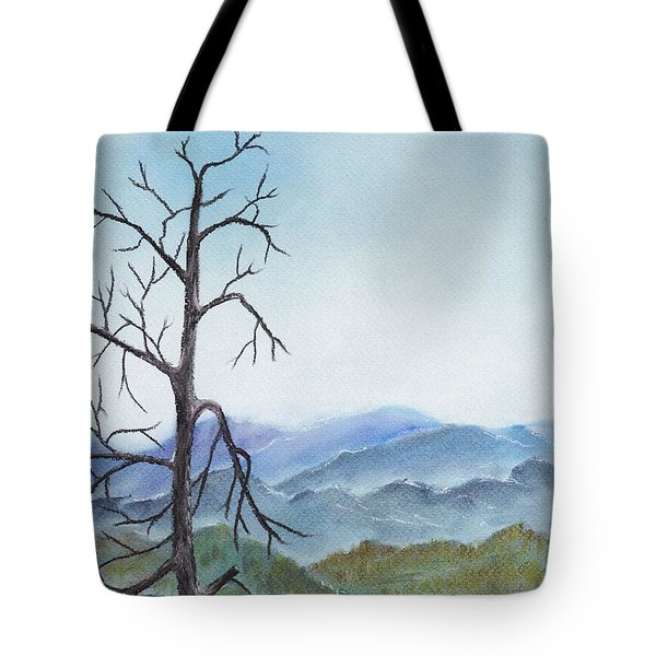 Highland Tote Bag by Anastasiya Malakhova