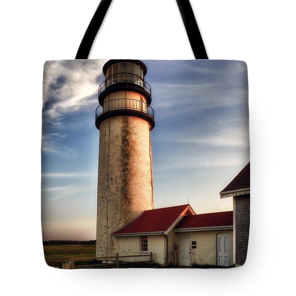 Highland Lighthouse Tote Bag by Mark Papke