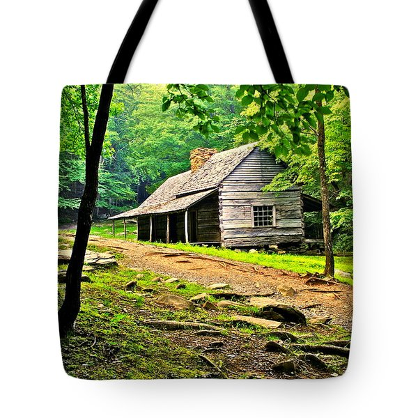 Hillbilly Heaven Tote Bag by Frozen in Time Fine Art Photography