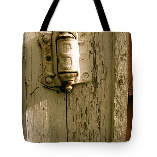 Hinge Tote Bag by Jacqueline Athmann