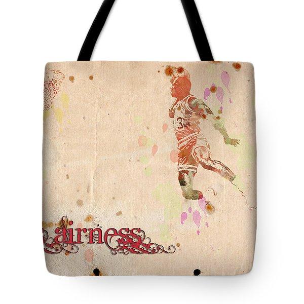 His Airness - Michael Jordan Tote Bag by Paulette B Wright