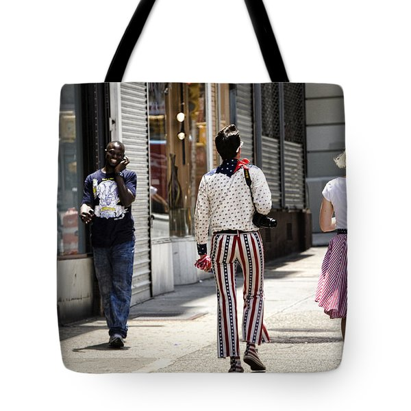 His Smile Tote Bag by Joanna Madloch