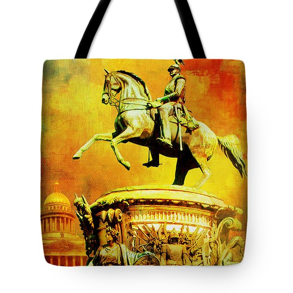 Historic Centre Of Saint Petersburg And Related Groups Of Monuments Tote Bag by Catf