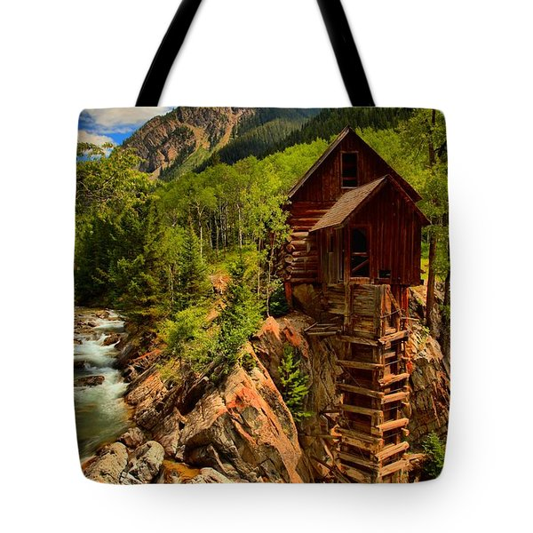 Historic Colorado Tote Bag by Adam Jewell