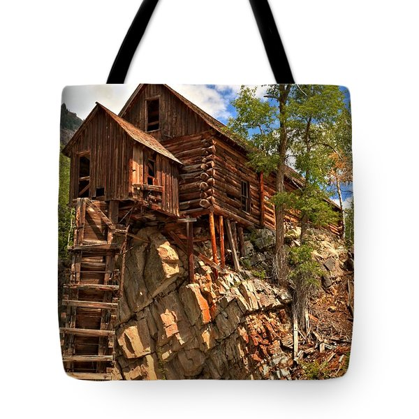 Historic Crystal Mill Tote Bag by Adam Jewell