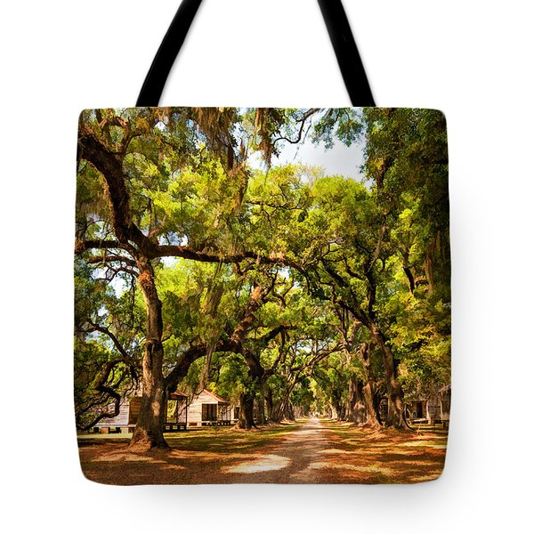 Historic Lane 2 Tote Bag by Steve Harrington