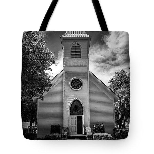 Historic Mcintosh Methodist Church Tote Bag by Lynn Palmer