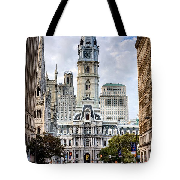 Historic Philly Tote Bag by JC Findley