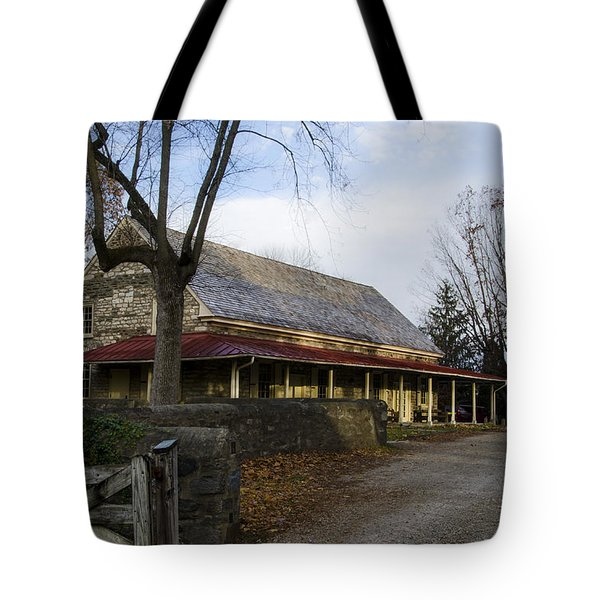 Historic Plymouth Meeting Friends Tote Bag by Bill Cannon