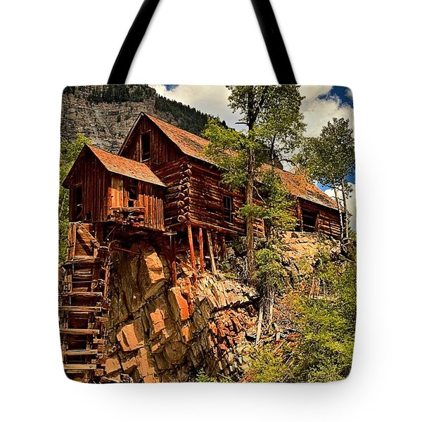 Historic Power Plant Tote Bag by Adam Jewell