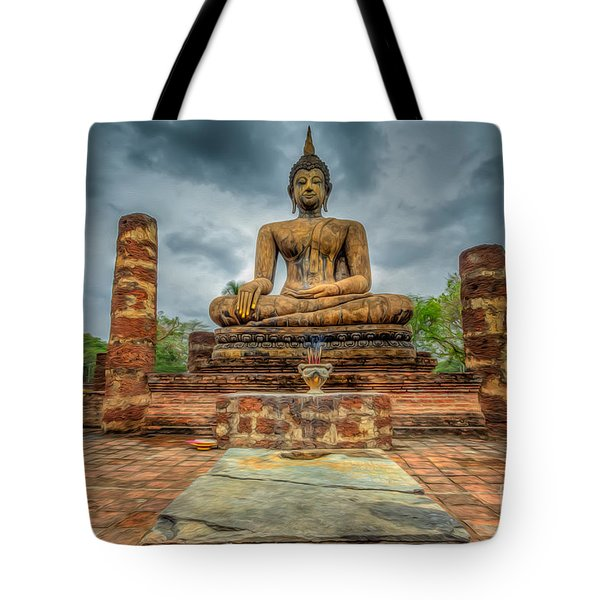 Historical Park Tote Bag by Adrian Evans