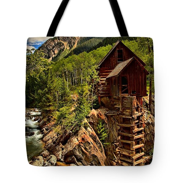 History In Crystal Tote Bag by Adam Jewell