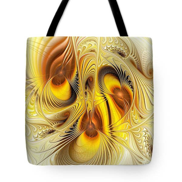 Hive Mind Tote Bag by Anastasiya Malakhova