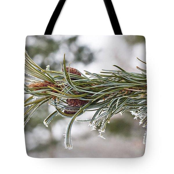 Hoar Frost Tote Bag by Steven Ralser