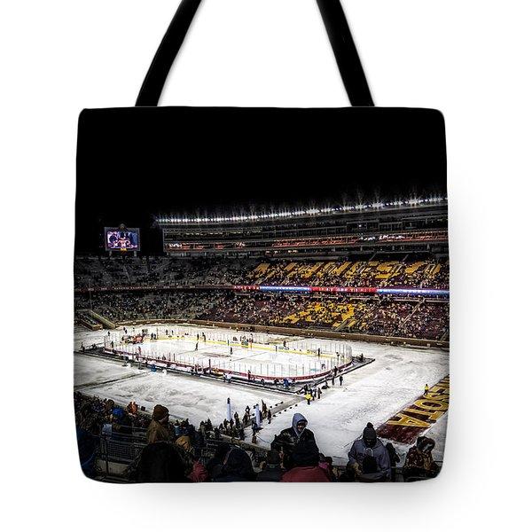Hockey City Classic Tote Bag by Tom Gort