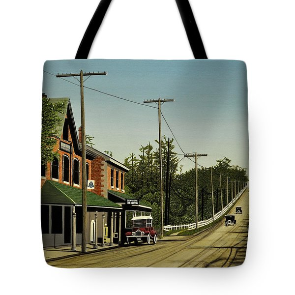 Hoggs Hollow Toronto 1920 Tote Bag by Kenneth M  Kirsch