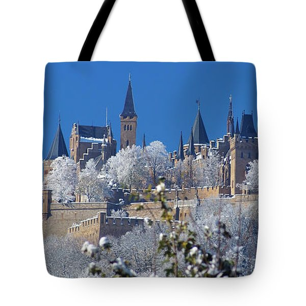 Hohenzollern Castle Germany Tote Bag by Rudi Prott