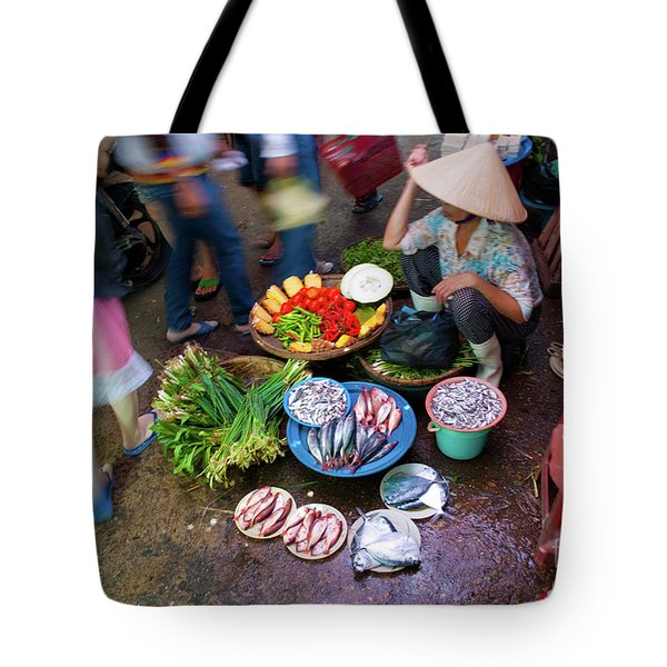 Hoi An Market Tote Bag by Stuart Row