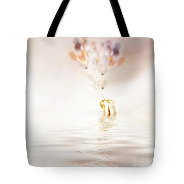 Hold On To Hope Tote Bag by Jacky Gerritsen