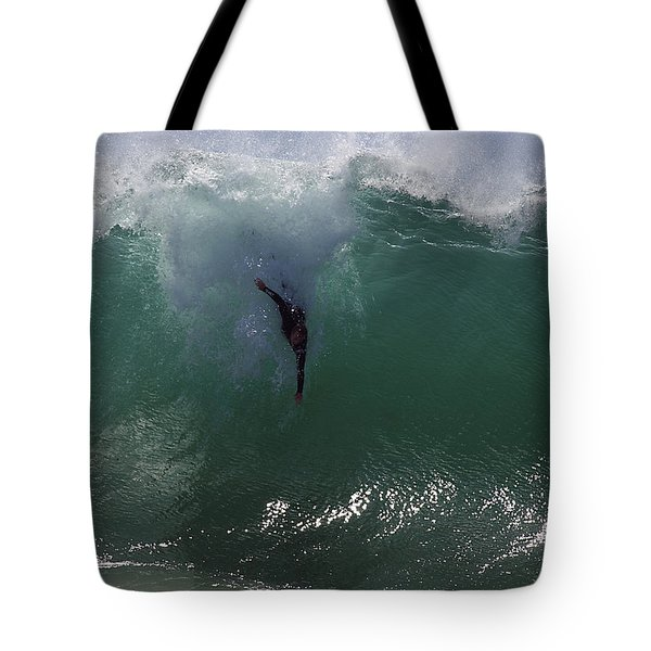 Hold Your Breath Tote Bag by Joe Schofield