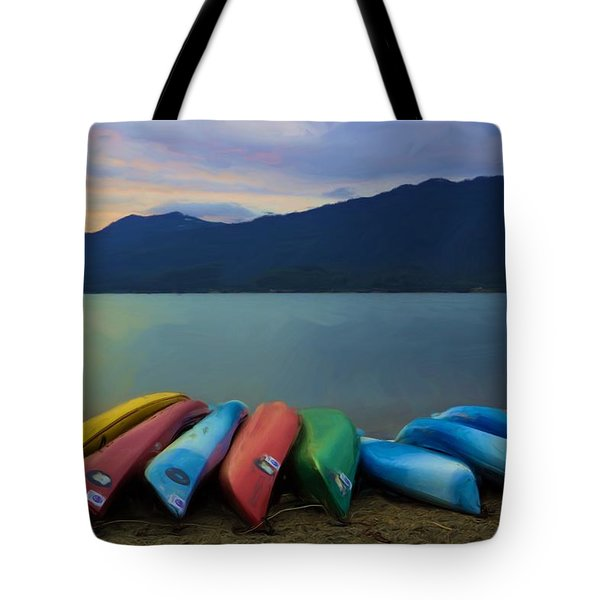 Holding On To Summer Tote Bag by Heidi Smith