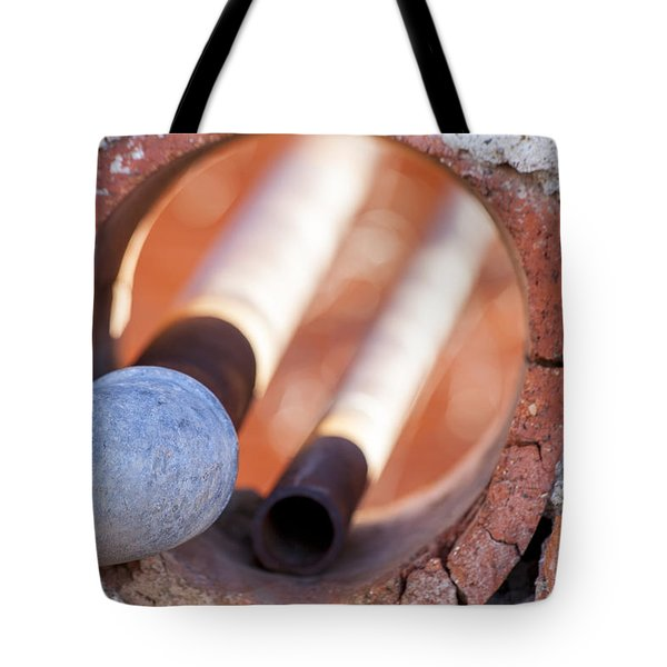 Hole in the Wall Tote Bag by Fran Riley