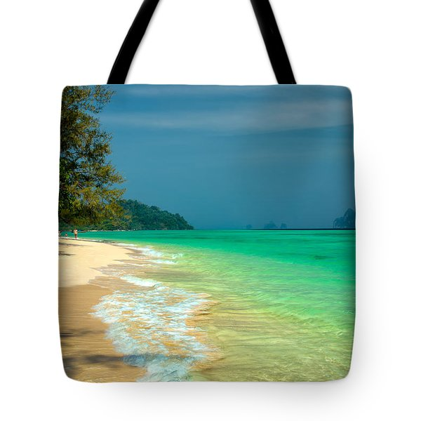 Holiday Destination Tote Bag by Adrian Evans