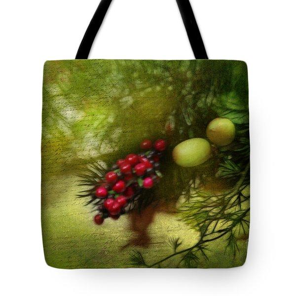 Holiday Season Tote Bag by Judi Bagwell