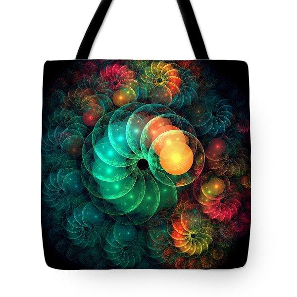 Holiday Spirit Tote Bag by Anastasiya Malakhova