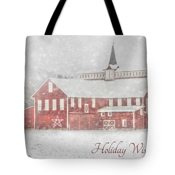 Holiday Wishes Tote Bag by Lori Deiter