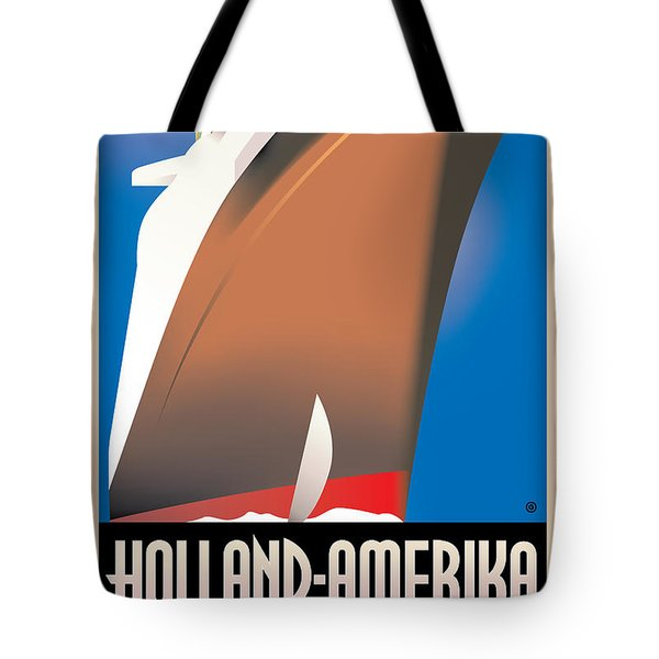 Holland America Tote Bag by Gary Grayson