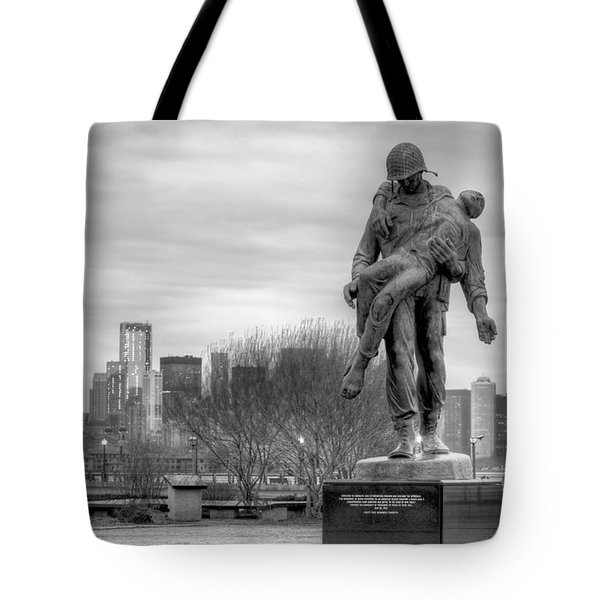 Holocaust Memorial  Tote Bag by JC Findley