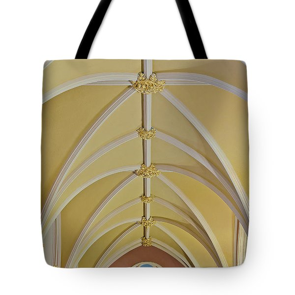 Holy Arches Tote Bag by Susan Candelario