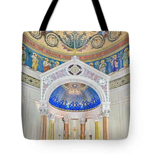 Holy Mary Tote Bag by Susan Candelario