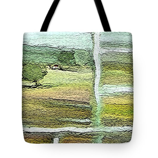 Home Alone As A  Patchwork Quilt Tote Bag by Lenore Senior