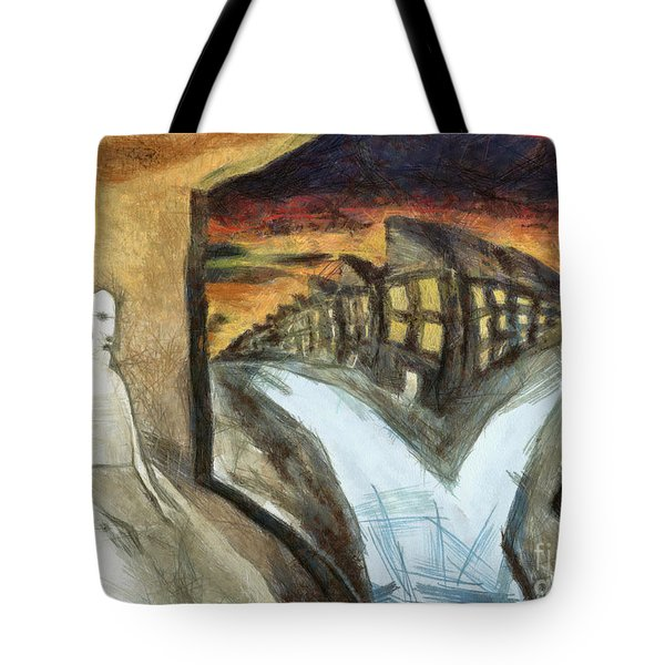 Home Alone Tote Bag by Michal Boubin