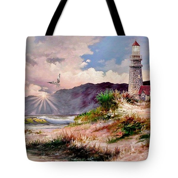 Home for the Night Tote Bag by Ronald Chambers