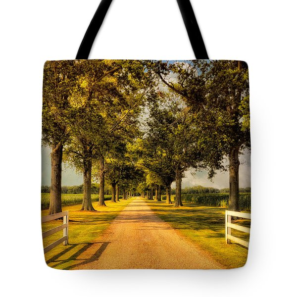 Home In Time For Supper Tote Bag by Lois Bryan