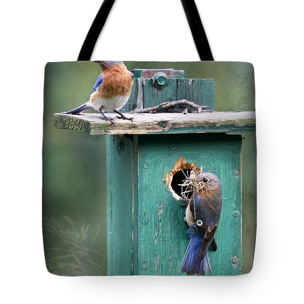 Home Sweet Home Tote Bag by Lori Deiter
