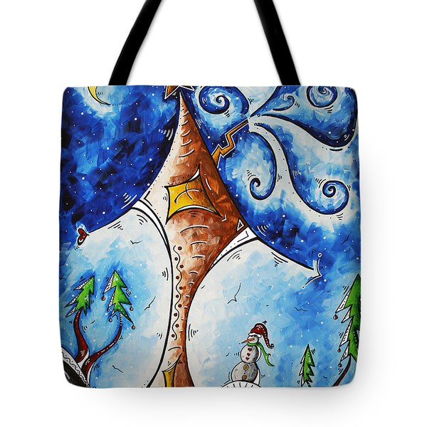 Home Sweet Home Tote Bag by Megan Duncanson