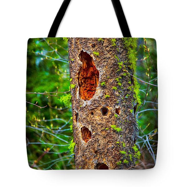 Home Sweet Home Tote Bag by Omaste Witkowski