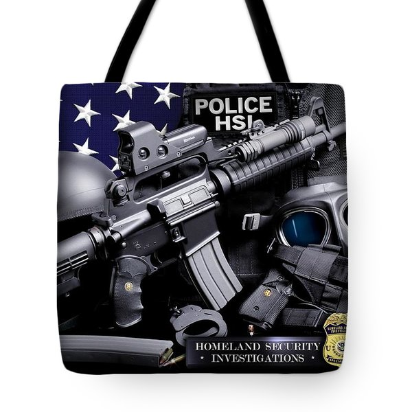 Homeland Security 1 Tote Bag by Gary Yost